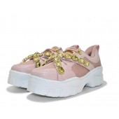 TENIS GUCCI FEMME SNEAKER STRASS - ROSE