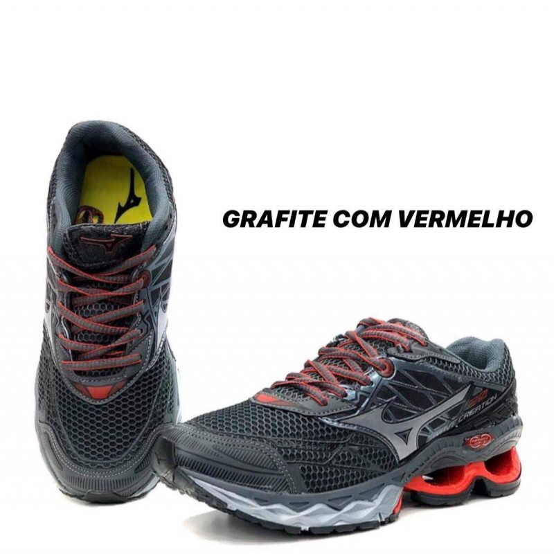 tenis mizuno wave creation 20 feminino y masculino