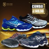 COMBO 2 PARES TÊNIS MIZUNO WAVE CREATION 20