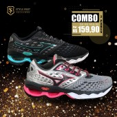 COMBO 2 PARES TÊNIS MIZUNO WAVE CREATION 21